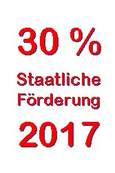 Förderung gasheizung 2017